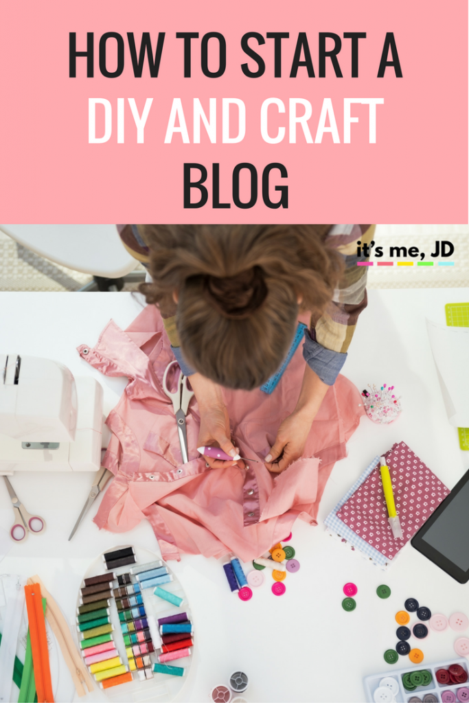 how to start a diy and craft blog