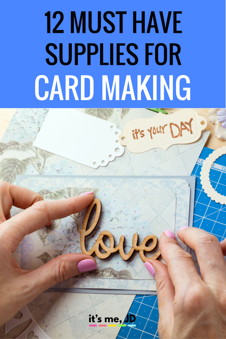 12 Must-Have Supplies for Card Making
