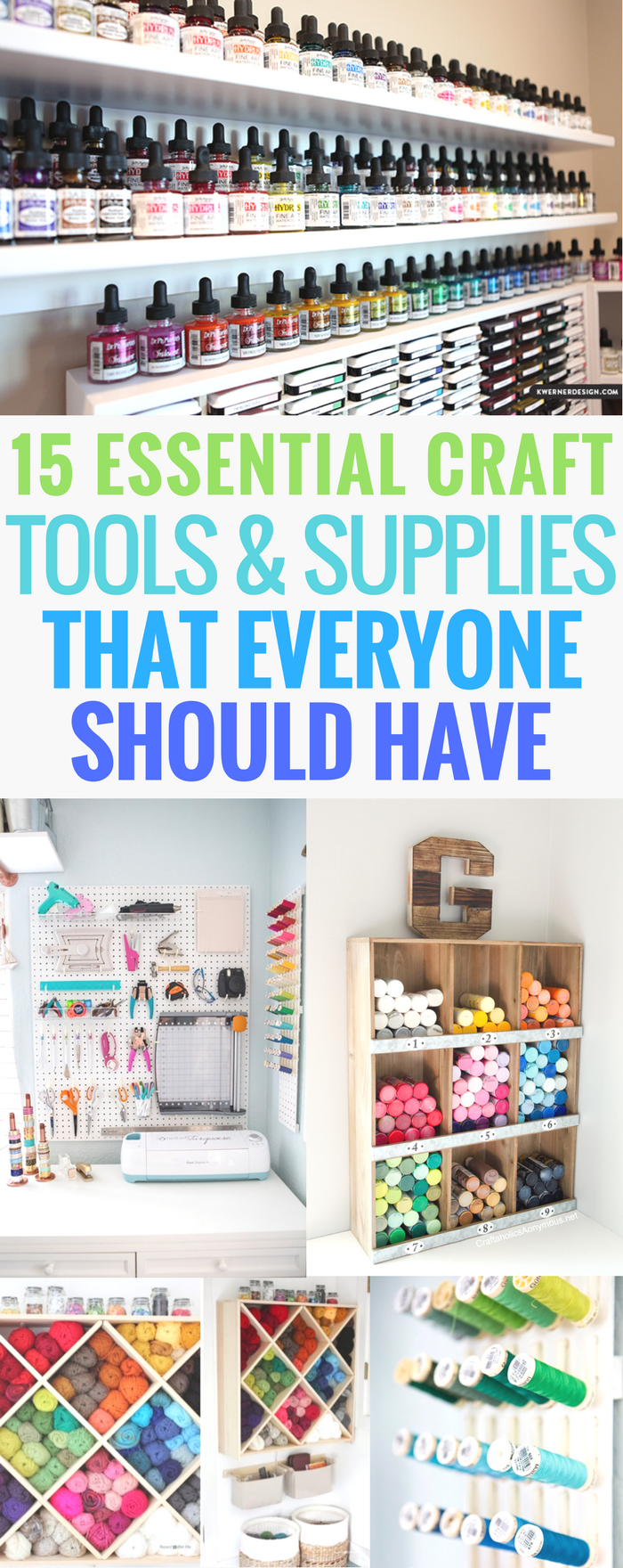 15 Essential Craft Tools and Supplies That Everyone Should Have, Crafter, Paper, Card Making