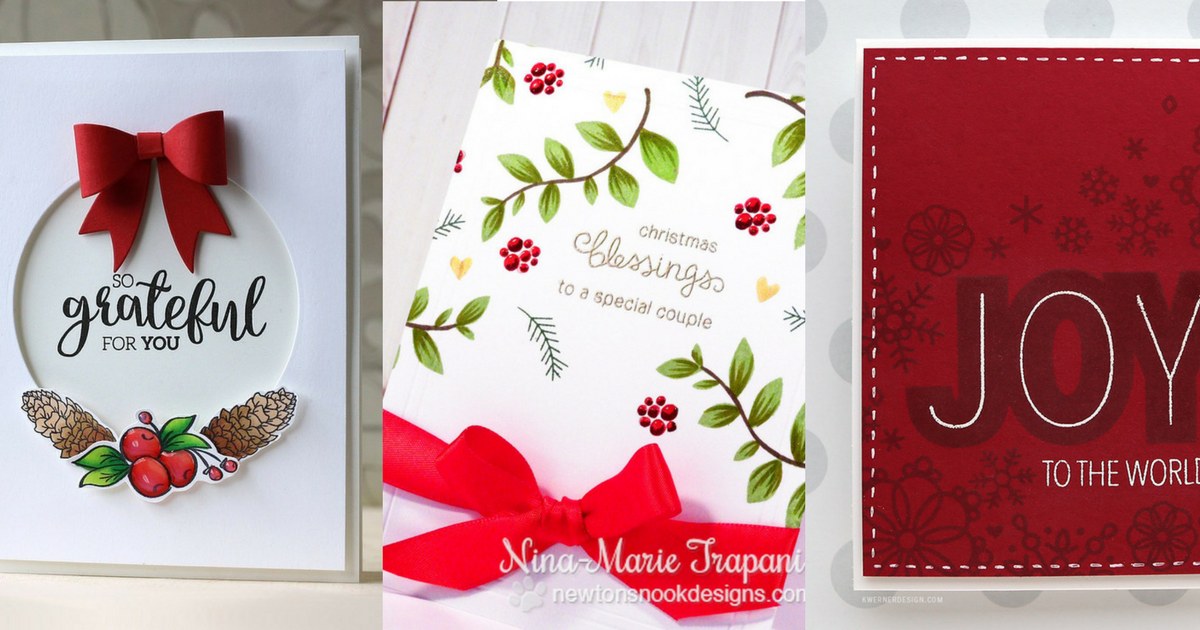 20 Gorgeous Handmade Christmas Cards Ideas That Are Easy to Make