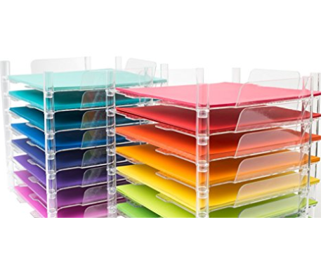 15 Clever Ideas For Scrapbook Paper Storage On Every Budget