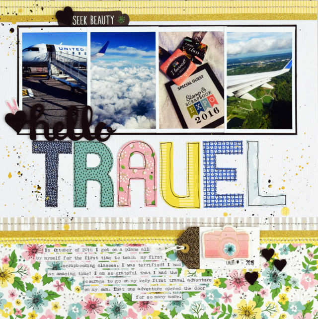 11 Fantastic Scrapbook Layouts Ideas for Travel