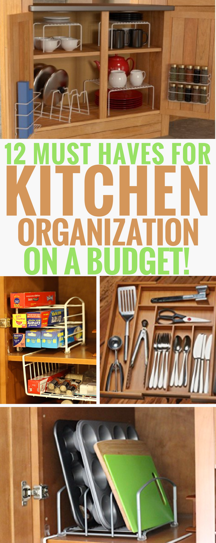 kitchen organization ideas budget 12 must products for kitchen organization on a budget 5436
