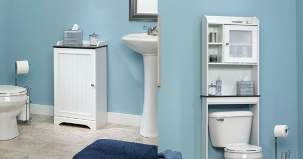Awesome Bathroom Organizers Storage Ideas for Smaller Spaces to help contain the clutter