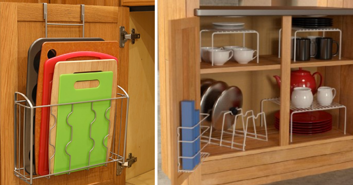 Must Have Products For Kitchen Organization On A Budget, Perfect For Small  Spaces, Ideas