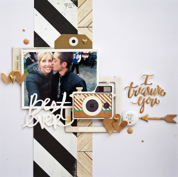 12 Scrapbook Layout Ideas For Couples In Love