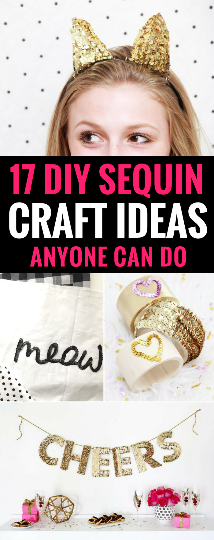 DIY Sequin Crafts Ideas Anyone Can Do, Sparkly Projects for Fashion, Arts, or Home Decor