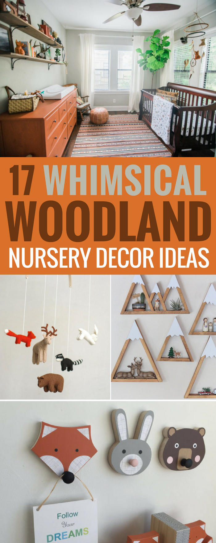 Decor Ideas For A Whimsical Woodland Nursery Rustic That Are Gender Neutral And Feature