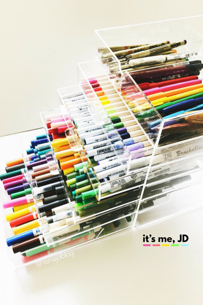 17 Creative Ideas For Marker And Pen Storage