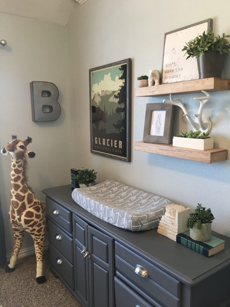 17 decor ideas for a whimsical woodland nursery for Decor 17