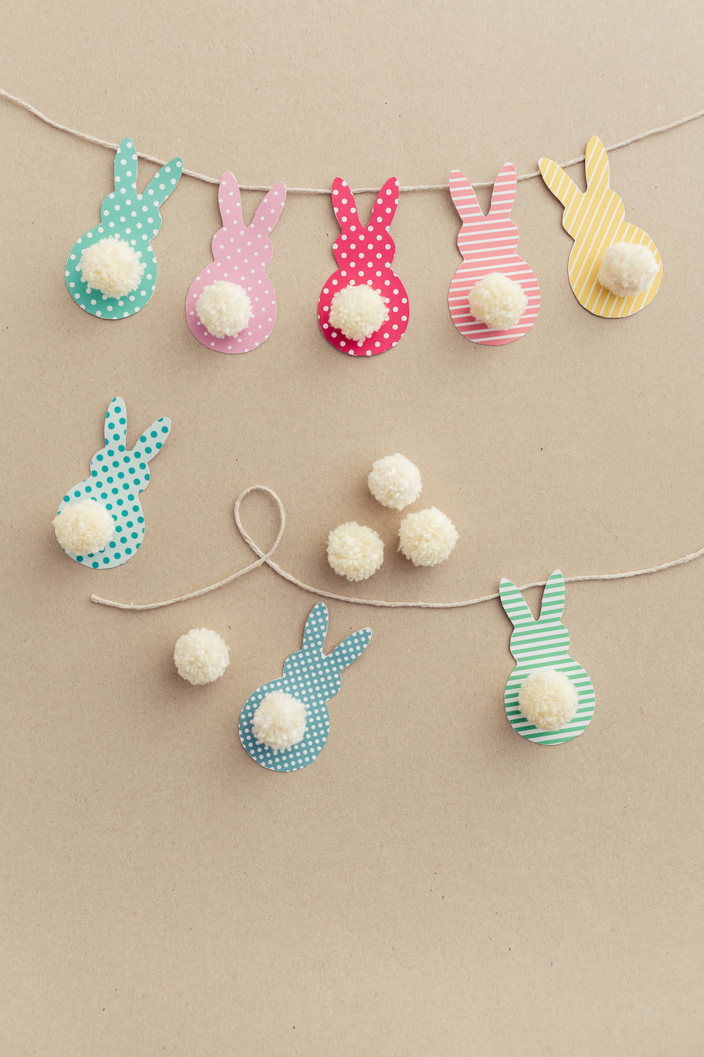 Bunny Rabbit Christmas Ornaments