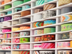 Wonderful Ideas for Washi Tape Storage and Organization