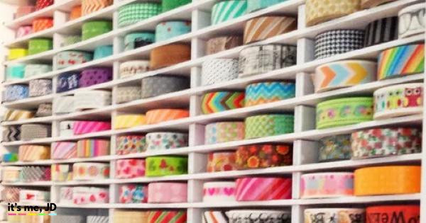 Wonderful Ideas for Washi Tape Storage and Organization