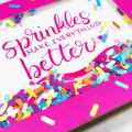 How to Make A Sprinkle Confetti Shaker Card