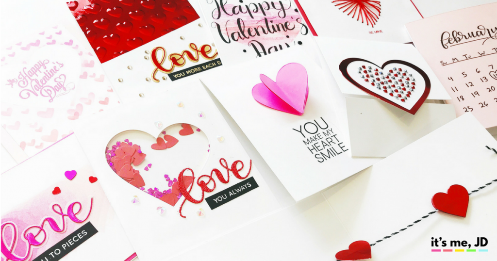 10 DIY Valentine's Day Card, Quick, Easy, Handmade