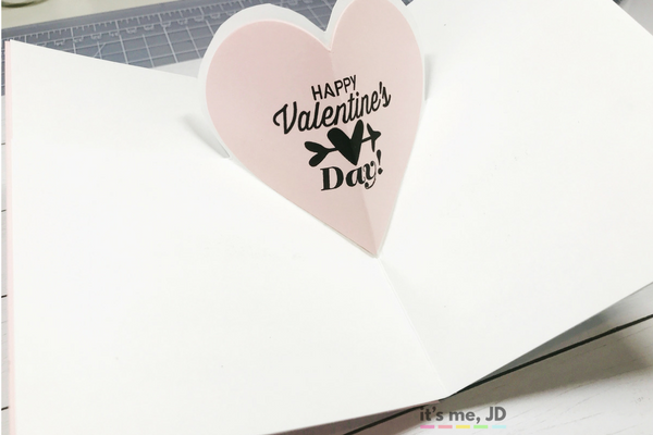 DIY Valentine's Day Card, Quick, Easy