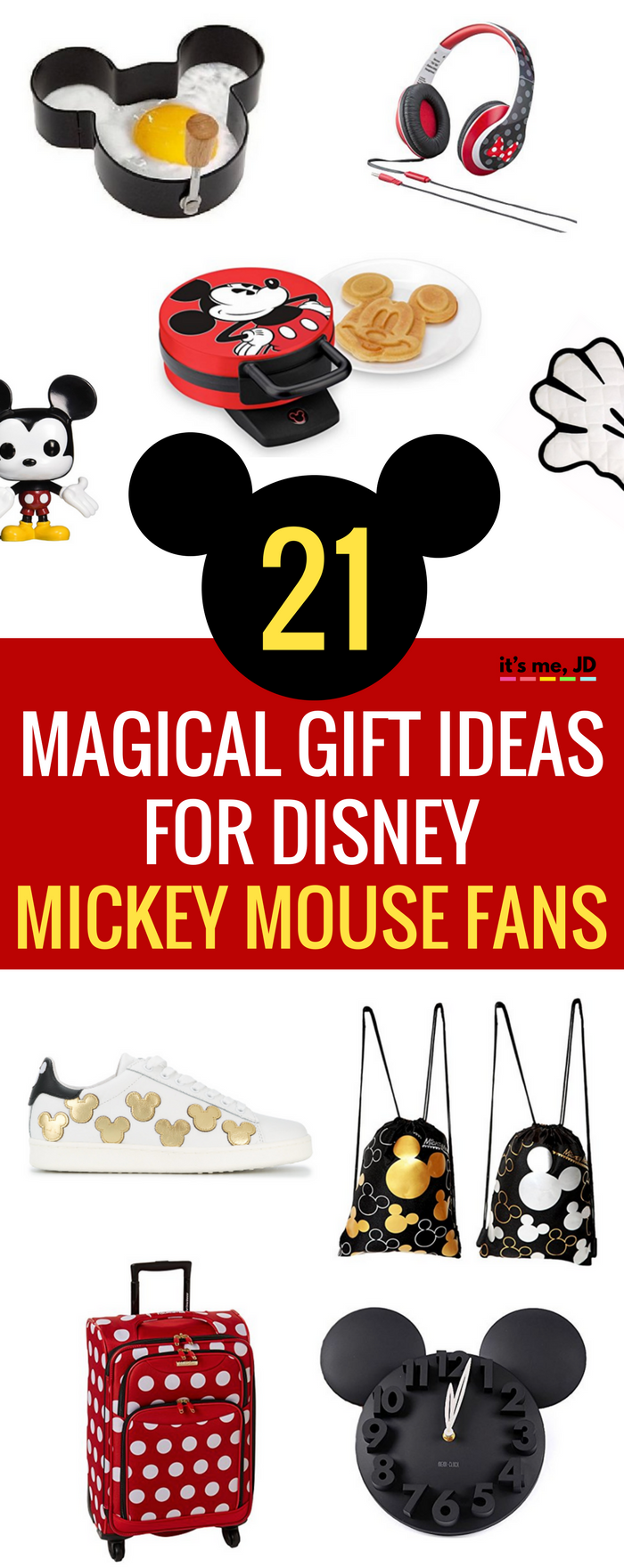#Disney #mickeymouse 21 Magical Gift Ideas for Disney Mickey Mouse Fans