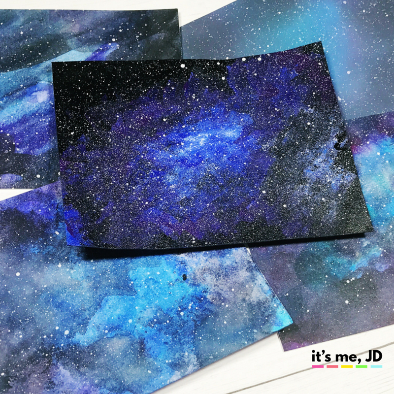 5 easy ways to draw a galaxy for How to paint galaxy