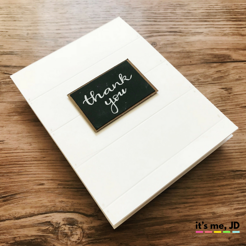 shiplap chalkboard Fixer Upper Inspired Cards | Sliding Barn Door and Farmhouse Crafts | Chip and Joanna Card
