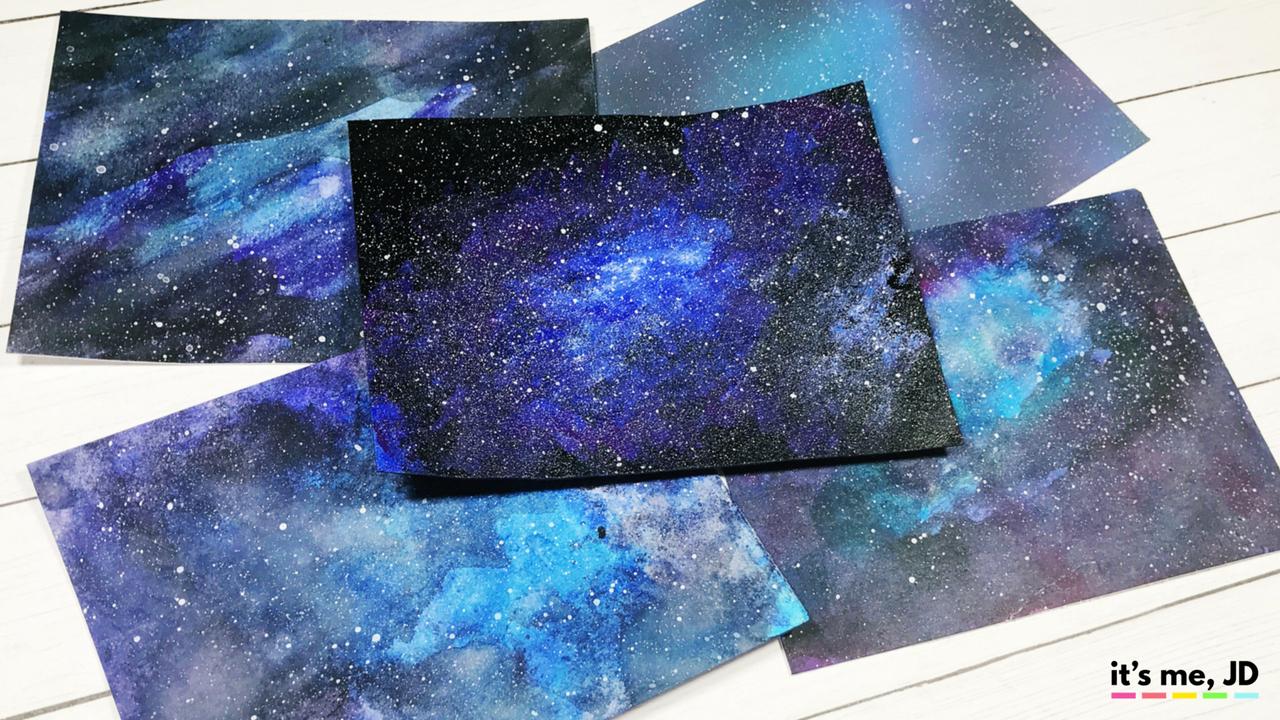 5 Easy Ways To Draw A Galaxy