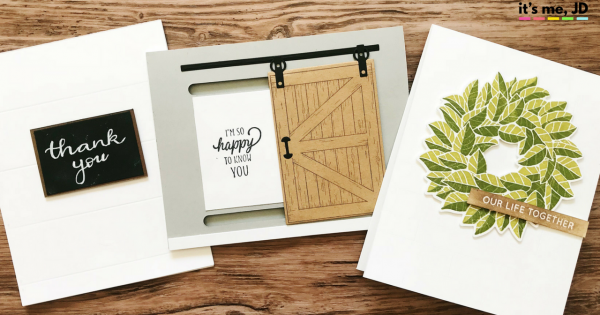 Fixer Upper Inspired Card Projects _ Sliding Barn Door and Farmhouse Style Crafts _ Chip and Joanna Card