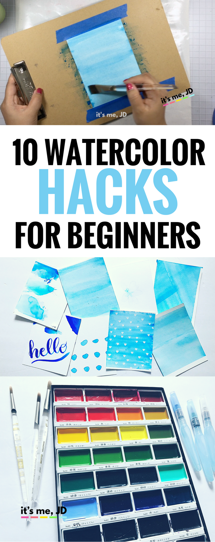 10 watercolor hacks for beginners tips and tricks to for Watercolor supplies for beginners