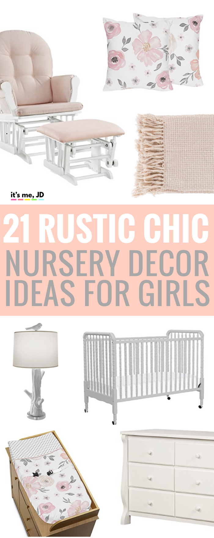 21 Rustic Chic Nursery Decor Ideas for Girls