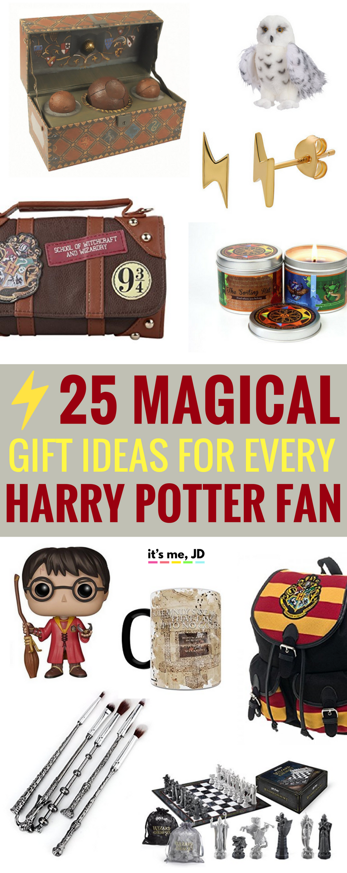 #harrypotter Magical Gift Ideas for Harry Potter Fans