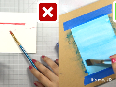 Watercolor hacks and tips for beginners