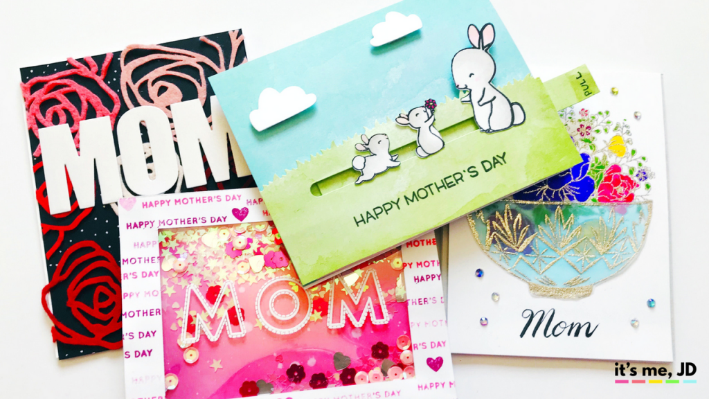 4 Easy Ideas for Handmade Mother's Day Cards