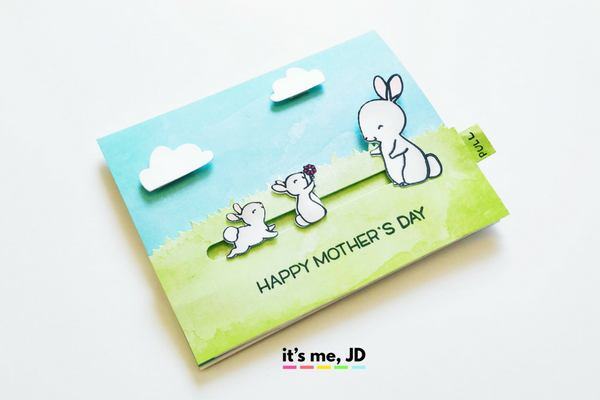 4 Easy Ideas for Handmade Mother's Day Cards _ Tutorial on DIY Cards for Mom