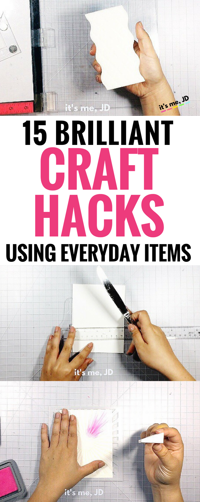 15 Brilliant Craft Hacks Using Everyday Items #crafthacks #crafttips #diycrafts #craftvideo #craftideas