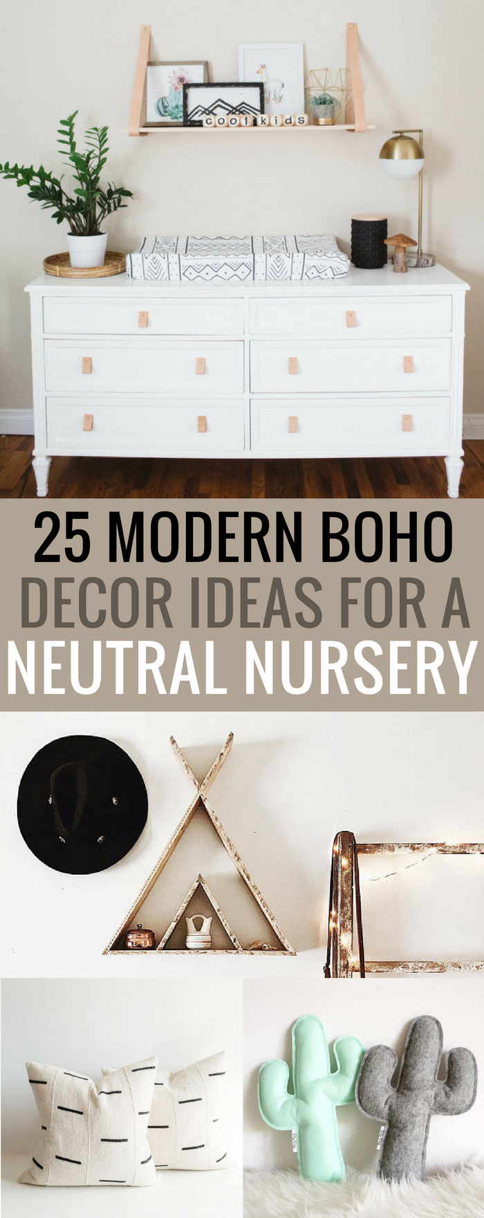 #boho #nursery #newmom 25 Modern Boho Decor Ideas for Your Baby's Nursery