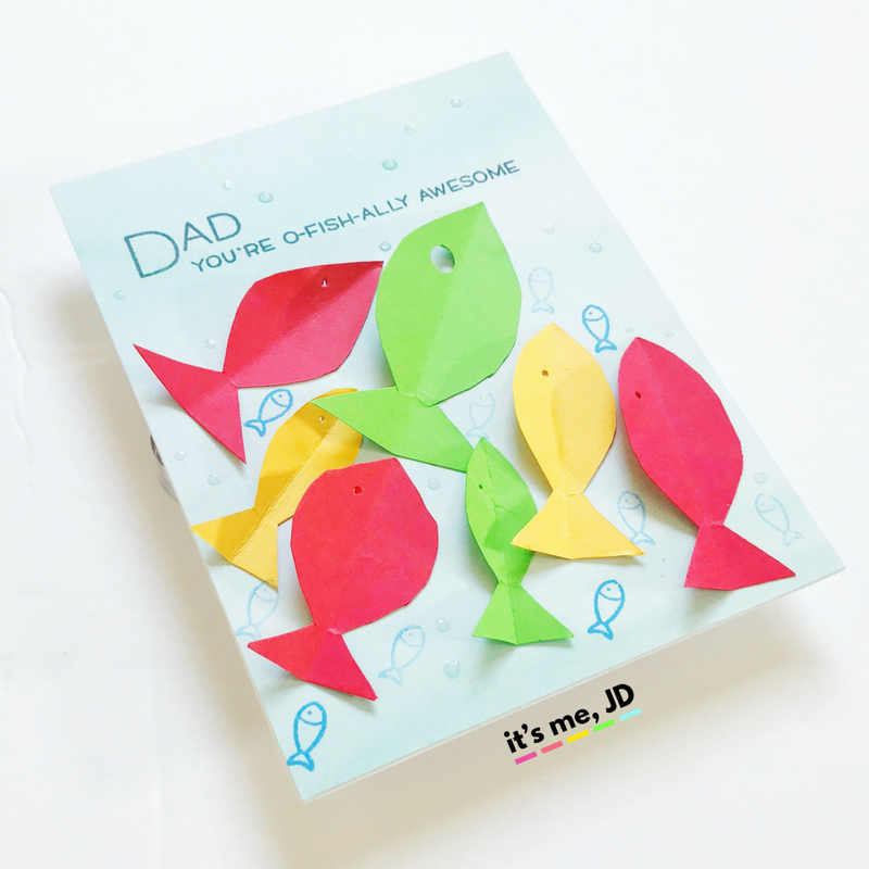 Easy Handmade Father's Day Card Ideas _ Tutorial on DIY Father's Day Cards