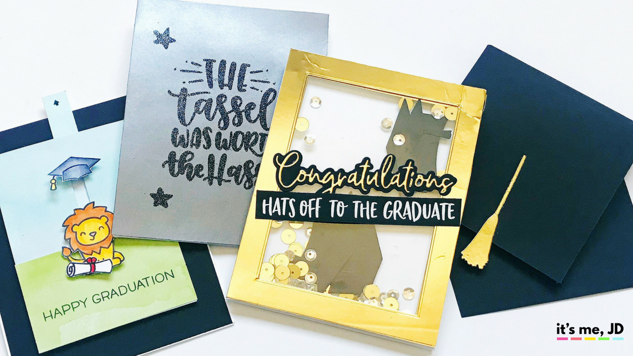 4 Easy DIY Graduation Card Ideas