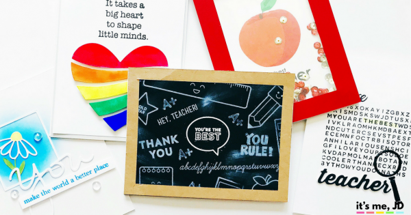 5 Creative Handmade Teacher Appreciation Card Ideas, DIY Cards for Teacher's Day