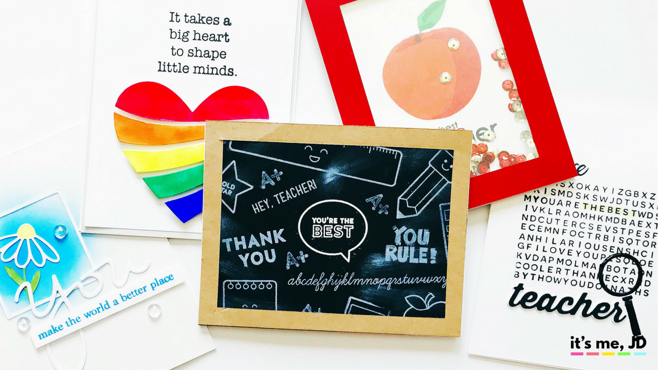 5 Handmade Card Ideas That Teachers Will Love