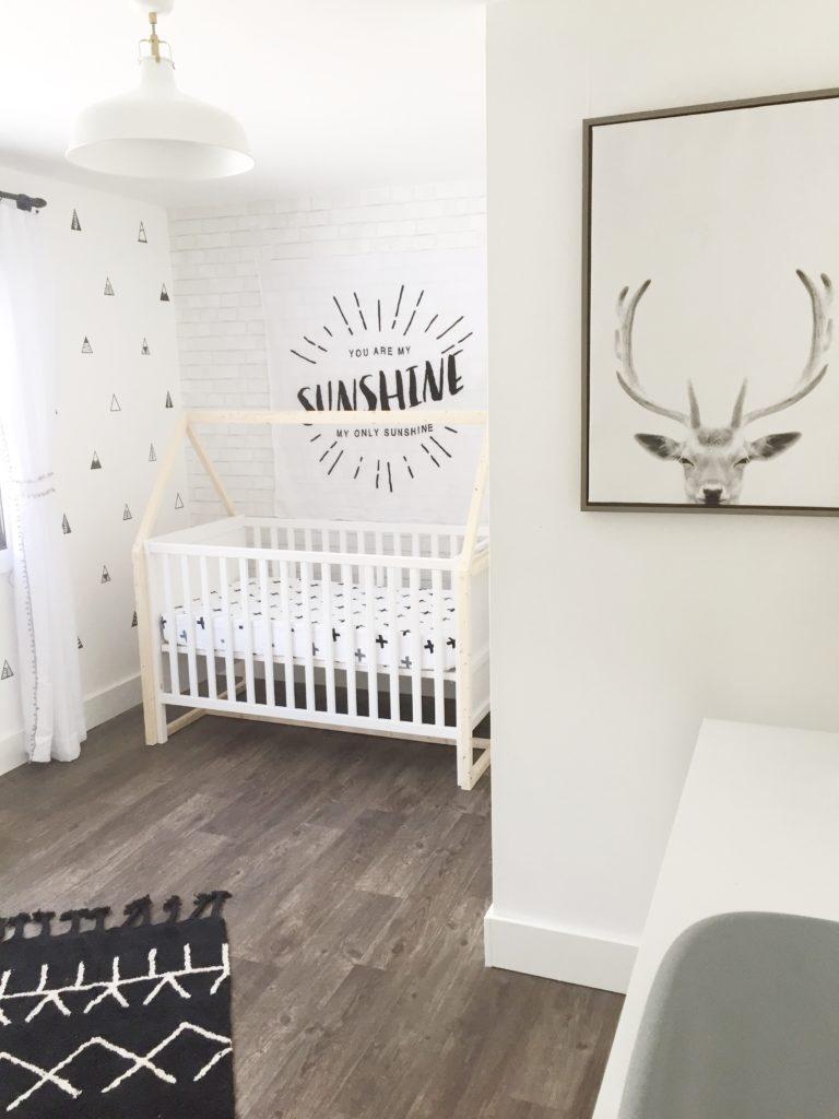 Modern Baby Nursery Design And Ideas: 25 Black And White Decor Ideas For A Modern Neutral