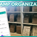 Stamp Inventory and Organization Storage