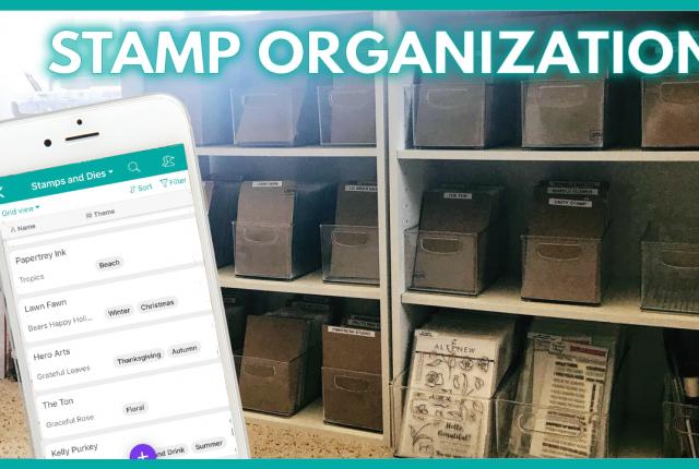Stamp Inventory and Organization Storage