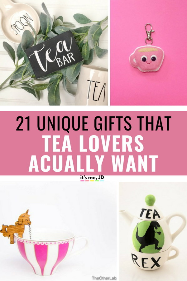 21 Unique Gifts That Tea Lovers Actually Want #Tealover #teagifts #teatime #tealovers
