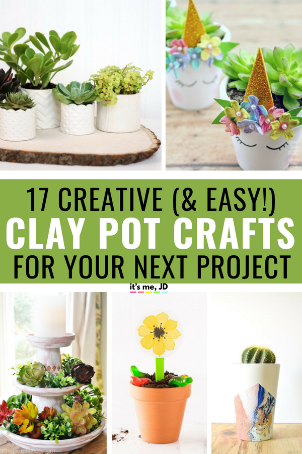 21 creative clay pot crafts #claypot #flowerpot #claypotcrafts #terracotta