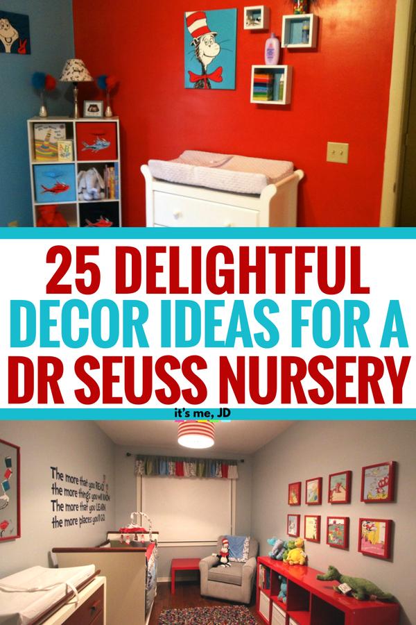 25 Delightful Decor Ideas For Dr Seuss Nursery Themes