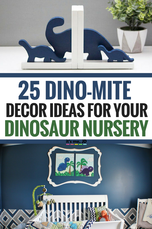 25 Dino-Mite Decor Ideas For Your Dinosaur Themed Nursery #nursery #nurserydecor #dinosaurnursery #nurserytheme