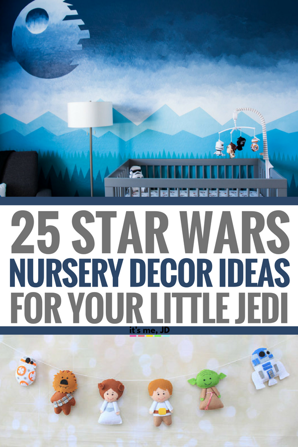 25 Star Wars Nursery Decor Ideas For Your Little Jedi #starwars #starwarsnursery #nurserydecor