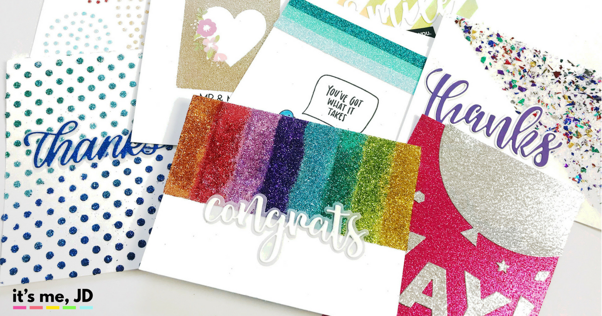 11 Easy Ways to Add Glitter to Your Craft Projects