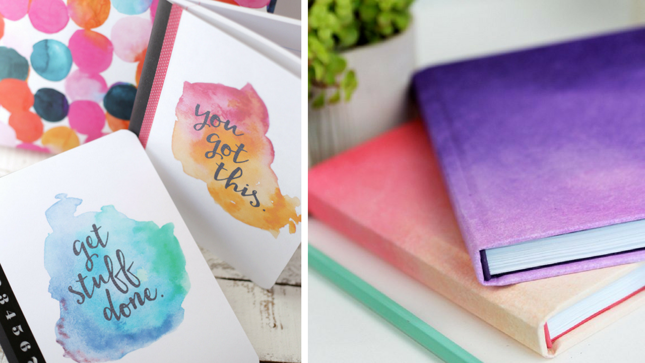 17 Gorgeous Diy Notebook Covers For School