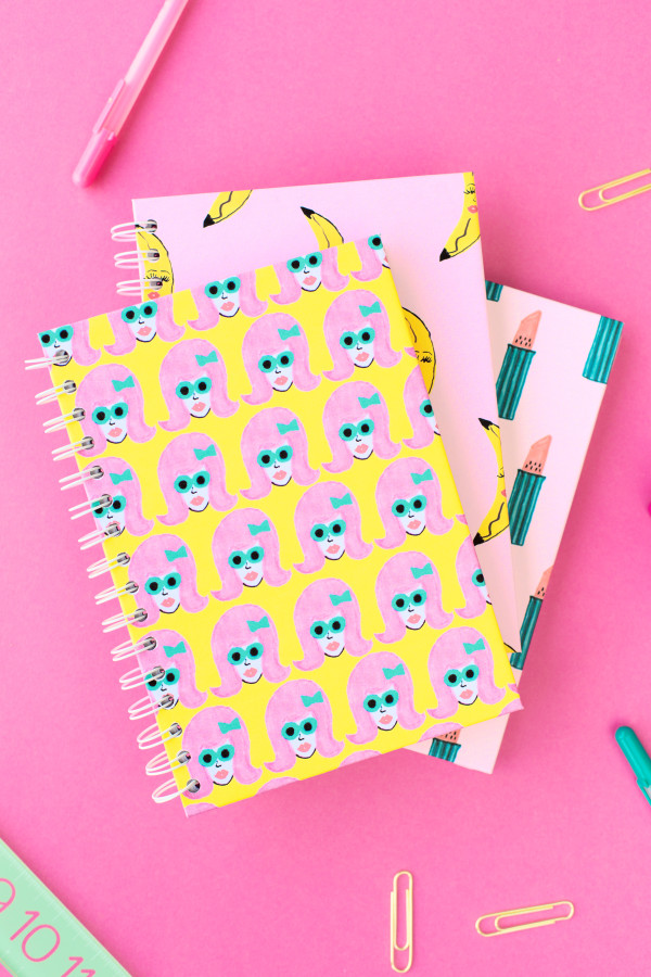 You can print 'em and makeover an old notebook…. right this minute! BAM! Instant gratification.