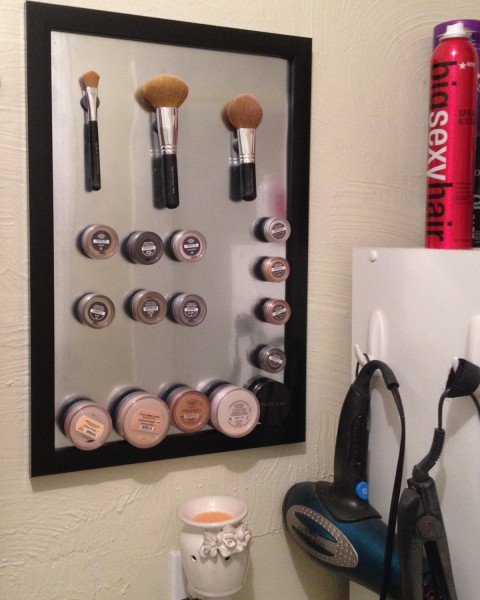 A makeup board doesn't have to be fancy to be functional!