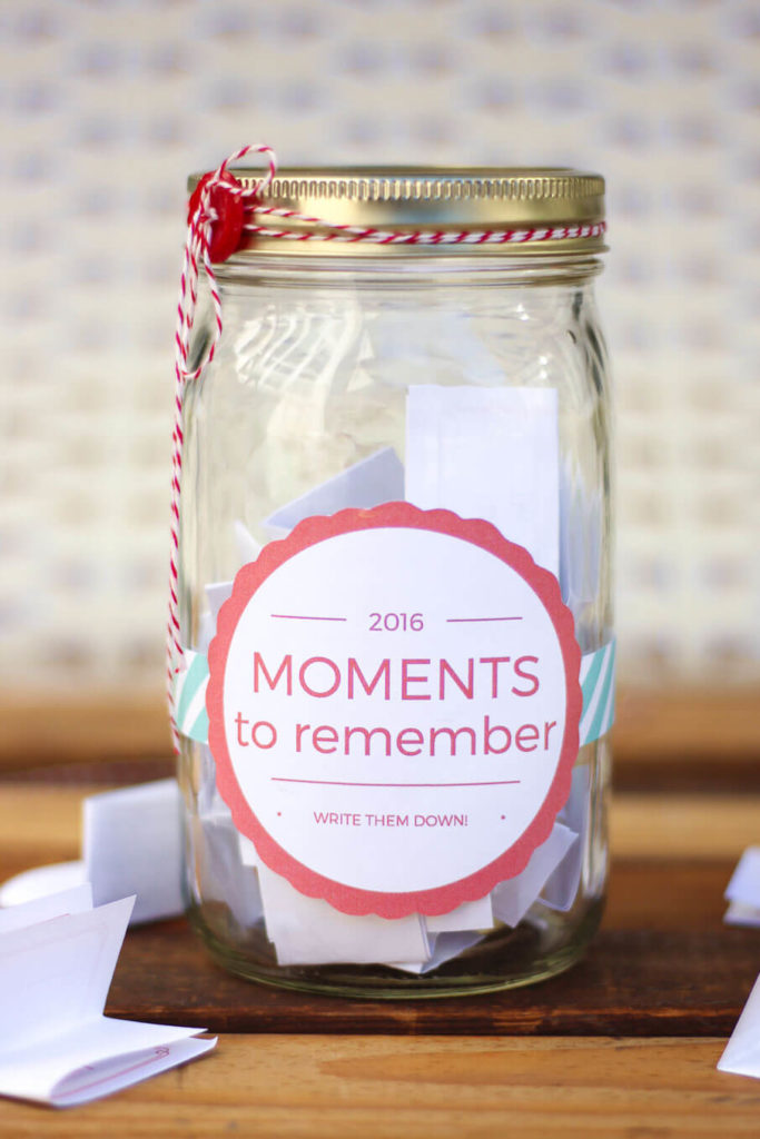 Give your sorority sisters the gift of memories. Make one for the house and anyone can add memories to the jar. At the end of the year, take an evening to sit together, read memories, and reminisce.